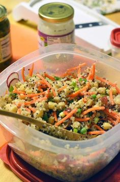 Vanishing Veggie: Chickpea and Quinoa Summer Salad