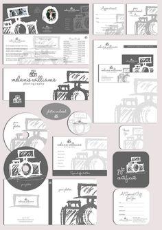 Photography logo & marketing set by Joanne Marie on Creative Market