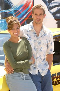 Eva Mendes and Paul Walker Promote '2 Fast 2 Furious' (Photo by Lalo Yasky/WireImage) via @AOL_Lifestyle Read more: https://www.aol.com/article/2016/06/03/paul-walkers-daughter-meadow-shares-a-rare-photo-and-looks-s/21389269/?a_dgi=aolshare_pinterest#fullscreen