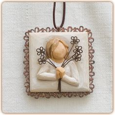 Friendship Metal-edged Ornament - Friendship is the sweetest gift!