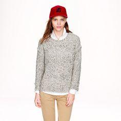 Marled drop-shoulder sweater - sweaters - Women's new arrivals - J.Crew