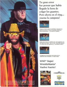 Super WrestleMania for Mega Drive