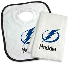 Our personalized tampa bay lightning large gift basket is a our officially licensed personalized tampa bay lightning bib and burp cloth set is an excellent gift negle Images