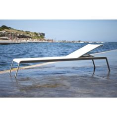 Clovelly Sun Lounge and Sunbed from Harbour Outdoor Modern Outdoor Chaise Lounges, Outdoor Seating, Outdoor Decor, Family Room Furniture, White Vinyl, Modern Luxury, Outdoor Living, Outdoor Furniture, Taupe