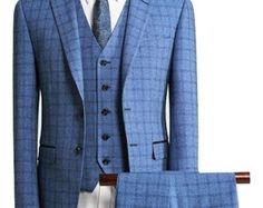 """Custom & Bespoke Clothing for Men. https://www.etsy.com/uk/shop/GBGSuits 3 piece suit,wedding suit,groom suit,men's """"colour"""" suit,men's waistcoat,men's vest,men's suit."""