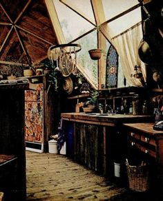 kitchen bohemian style