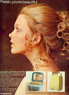 From Seventeen, May 1970. With model/actress Susan Blakely.