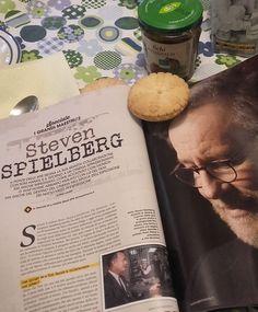 Poteva forse mancare una cinecolazione insieme a Steven Spielberg e una bella intervista in occasione dell'uscita del film Il ponte delle spie (2015) con Tom Hanks e il futuro premio Oscar, Mark Rylance?