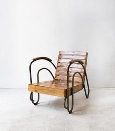 Wooden 'Chill Out' Chair