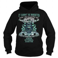 Awesome Tee SENIOR INTERNAL AUDITOR T-Shirts #tee #tshirt #Job #ZodiacTshirt #Profession #Career #auditor