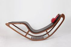 Wooden chaise longue Chairbert
