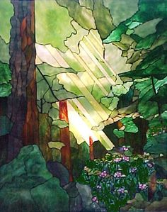 redwood grove stained glass.