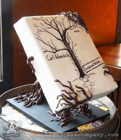 Carl Adamshick's Curses and Wishes // book cake