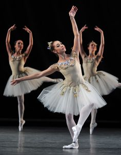 "Leanne Cope, ""Diamonds"" from ""Jewels"" (G. Balanchine), The Royal Ballet.  And now she's in"