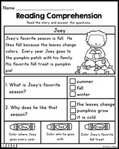 FREE Reading Comprehension Practice Passages