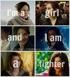 Im a girl and I am a fighter
