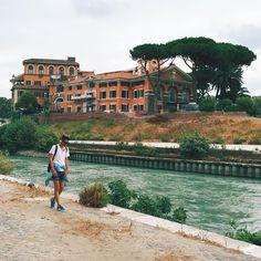 Cammino a contento per Roma! 💙🇮🇹 #italiandays #onurollstyleontheway