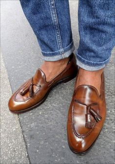 #Men'sFootwearFashion #loafer some one gift me