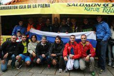 Transvulcania en Chamonix con corredores canarios