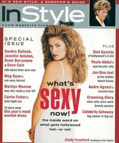 Found on Bing from www.instyle.com Chicago Magazine, My Magazine, Magazine Covers, Cosmopolitan Magazine, Instyle Magazine, Dean Cain, Meg Ryan, Kim Woo Bin, Jon Bon Jovi