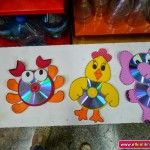 this page has a lot of free cd animal crafts for kids