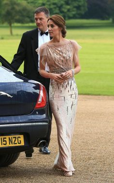 The Duchess of Cambridge attending a fundraising gala for East Anglia Children's Hospices - Norfolk - 22 June 2016.