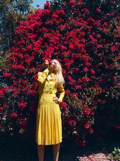 Fantastic spread in this month's Bazaar UK.  Claudia Schiffer is suh-mokin.