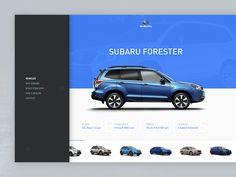 Subaru Redesign by Daniel Sandvik
