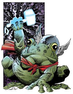 Throg by Walter Simonson