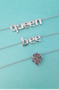 I love these charm letters - you can create anything with them! Super cute gift!
