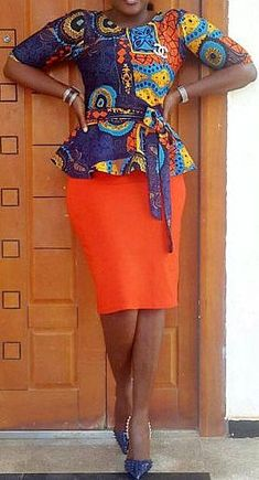 Hello Ladies, we have waited long for these amazing plain and patterned ankara styles. Plain and Patterned ankara styles are designed uniquely and flawlessly. African Dresses For Women, African Print Dresses, African Fashion Dresses, African Attire, African Wear, African Women, African Prints, African Style, African Outfits