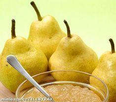 Domácí HRUŠKOVÁ povidla Pear Jam, Homemade Jelly, Home Canning, Preserves, Kimchi, Food And Drink, Yummy Food, Sweets, Baking