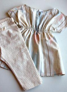 Making Stuff: Baby Tunic {Thrifted Sheet Refashion}