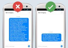 #thomashutter  Facebook: Leitfaden zu den neuen Nachrichtenfunktionen für Seitenadministratoren! Beispiel einer gut und einer schlecht formulierten Antwort über die Nachrichtenfunktion auf Facebook (Quelle: Facebook)