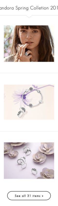 """""""Pandora Spring Colletion 2016"""" by sarapires ❤ liked on Polyvore"""
