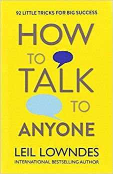 How to talk to anyone by leil lowendes