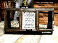 ALL100円素材でカフェ風ショーケースをDIY LIMIA (リミア)
