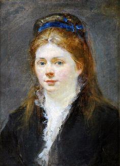 Manet.  Portrait of Victorine Meurent oil on canvas