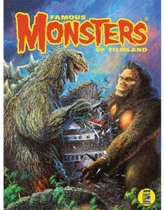 """18""""x24"""" Poster of Bob Eggleton's Artwork from the cover of Famous Monsters #287."""