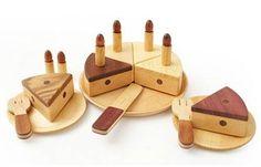Soopsori Wooden Birthday Cake Play Set