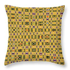 Drawing With Circles Throw Pillow featuring the digital art Drawing With Circles by Tom Janca