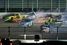 More and more teams in the NASCAR Camping World Truck Series are lacking sponsors, which could put the series in jeopardy.    http://beyondtheflag.com/2017/06/26/money-troubles-nascar-camping-world-truck-series/
