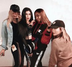 Dinah,Lauren,Normani and Ally ♡