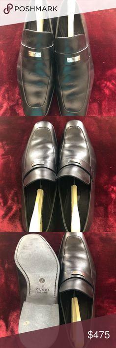 Men's Black slip on Men's Black Leather slip on Gucci Shoes Loafers & Slip-Ons Leather Slip Ons, Black Leather, Loafer Shoes, Loafers, Tap Shoes, Dance Shoes, Gucci Shoes, Gucci Black, Cute Outfits