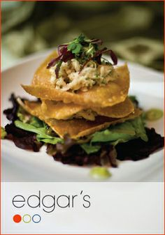 With a city-chic appearance and a menu of pure food art, Edgar's presents a unique and innovative dining experience that nourishes the body and the soul.