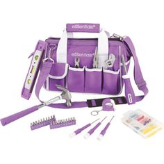 "A ""women's tool kit"" - I'm always looking for a screwdriver or hammer at church but can never find one, and I think purple would keep the items from ending up in the pastor's tool box. :)"