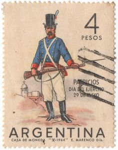 Argentina- Día del Ejército de 1964
