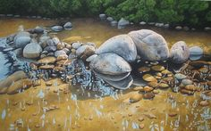 Watercolor Paintings of Rocks - Yahoo Image Search Results