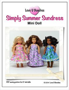 Mini Doll Pattern