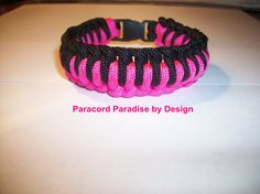 Paracord Bracelet by ParacordByDesign on Etsy, $5.00